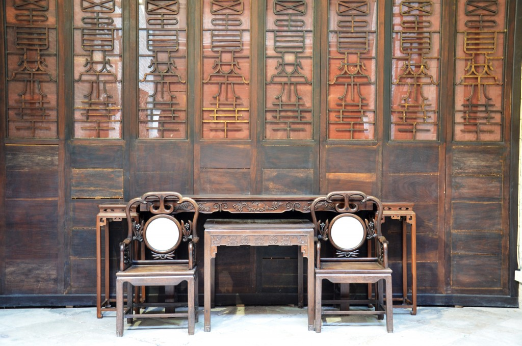 The sitting room of traditional Chinese furniture