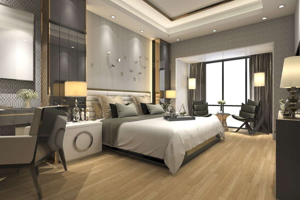 Sample of modern luxury room