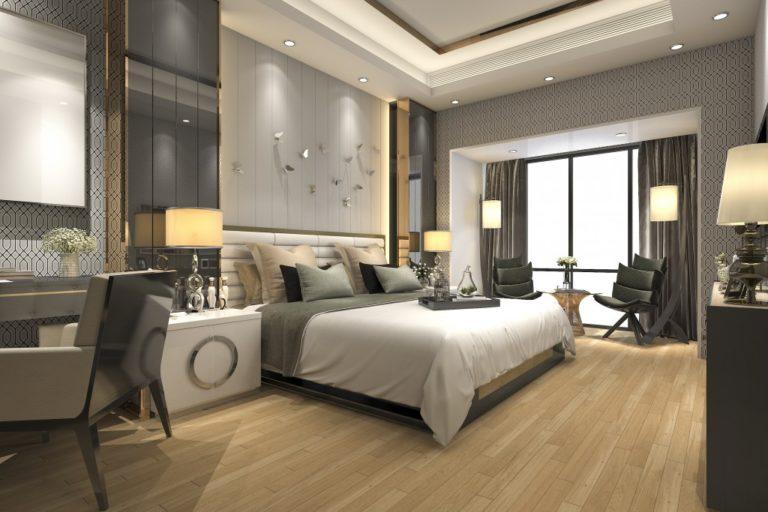 Sample of modern luxury room