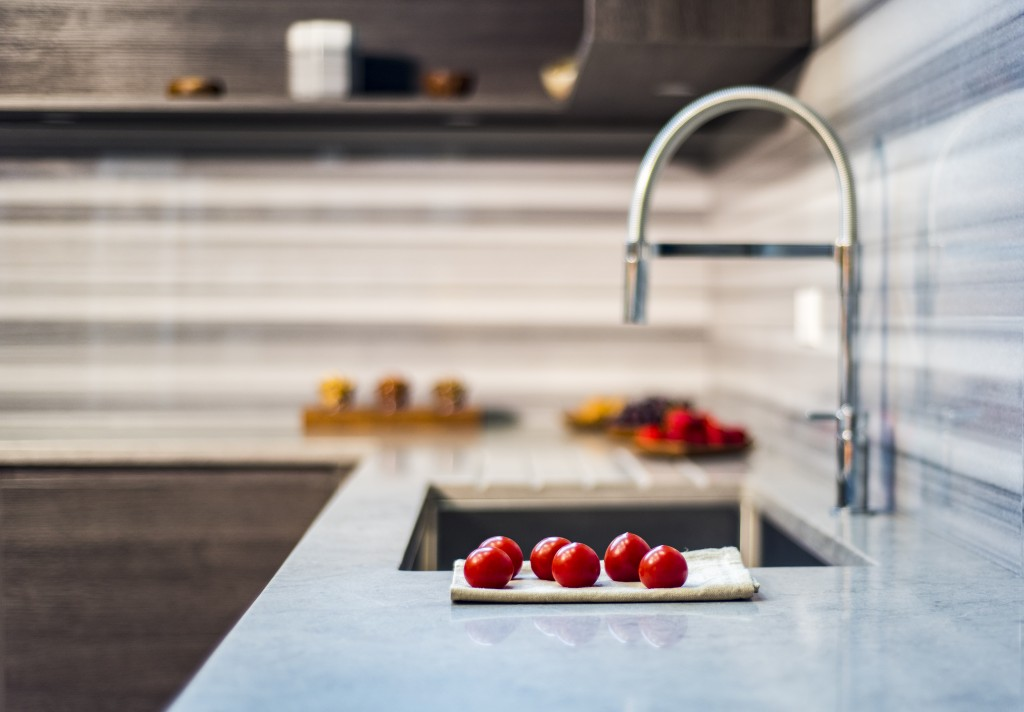 tomatoes by the kitchen sink