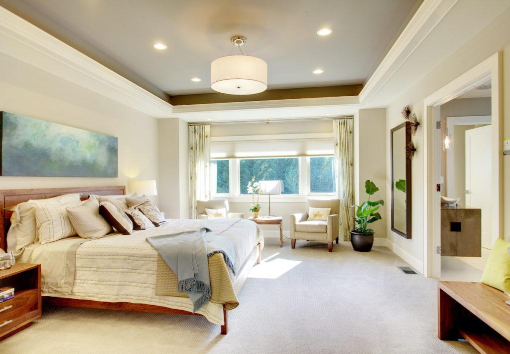 Sunlit room