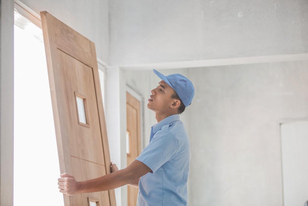 installing doors