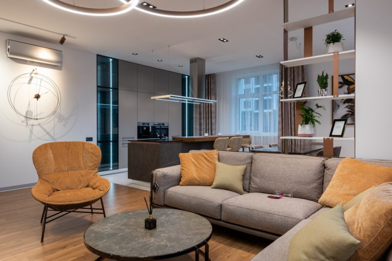 an living room