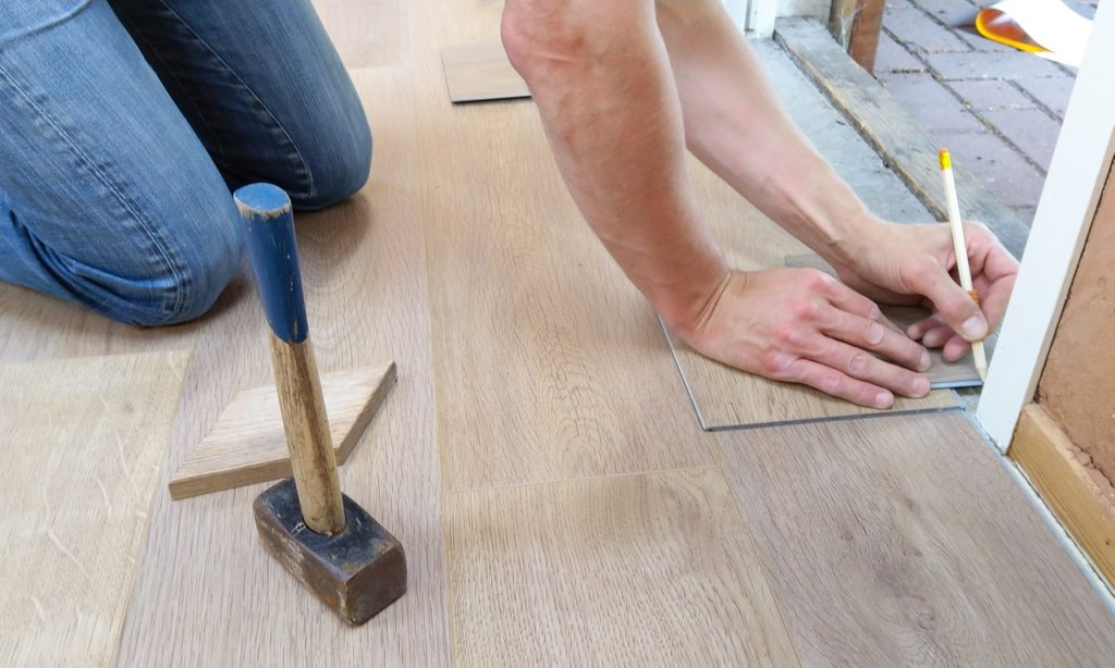 fixing the flooring