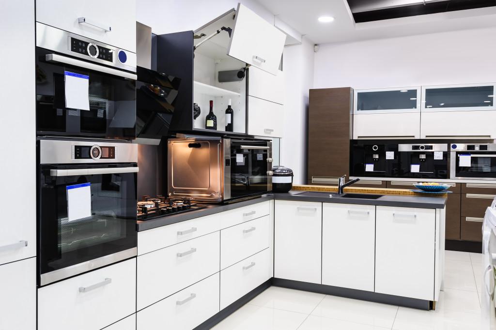 kitchen with plenty storage space
